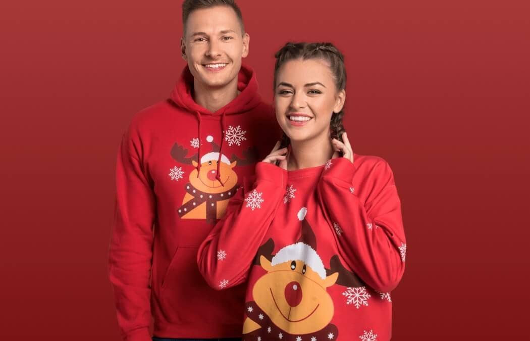 Erstelle deine individuellen Ugly Christmas Sweater