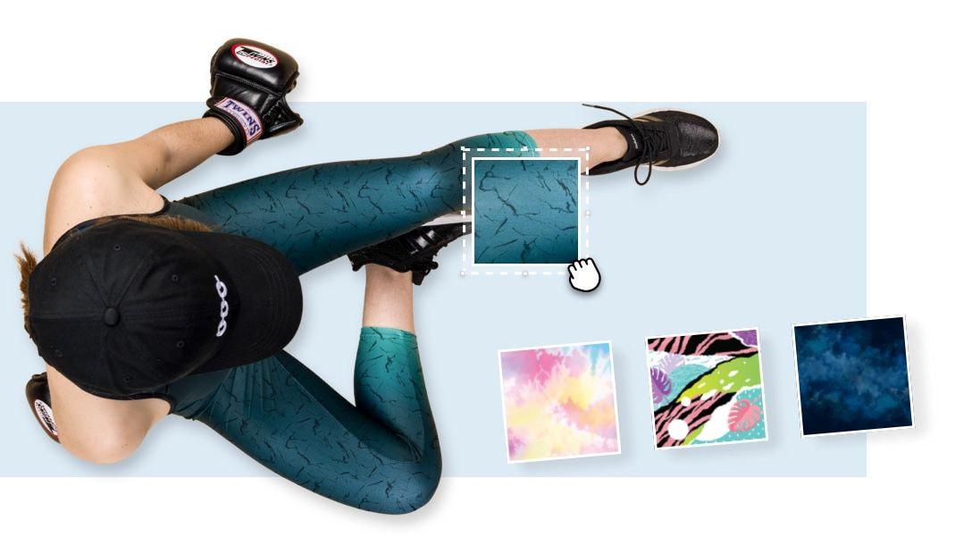Custom legging pattern