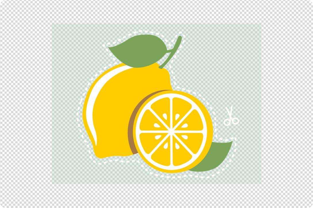 a shape of lemon