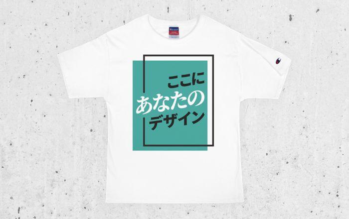 メンズ Champion Tシャツ