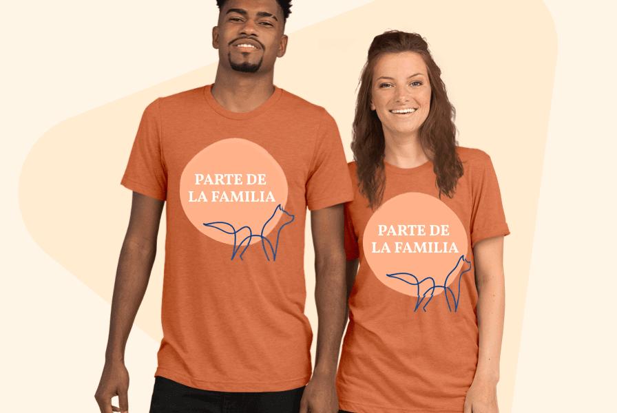 camisetas familisares