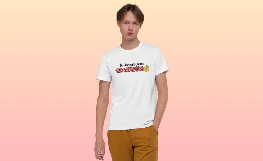 Camisetas con mensaje para hombre
