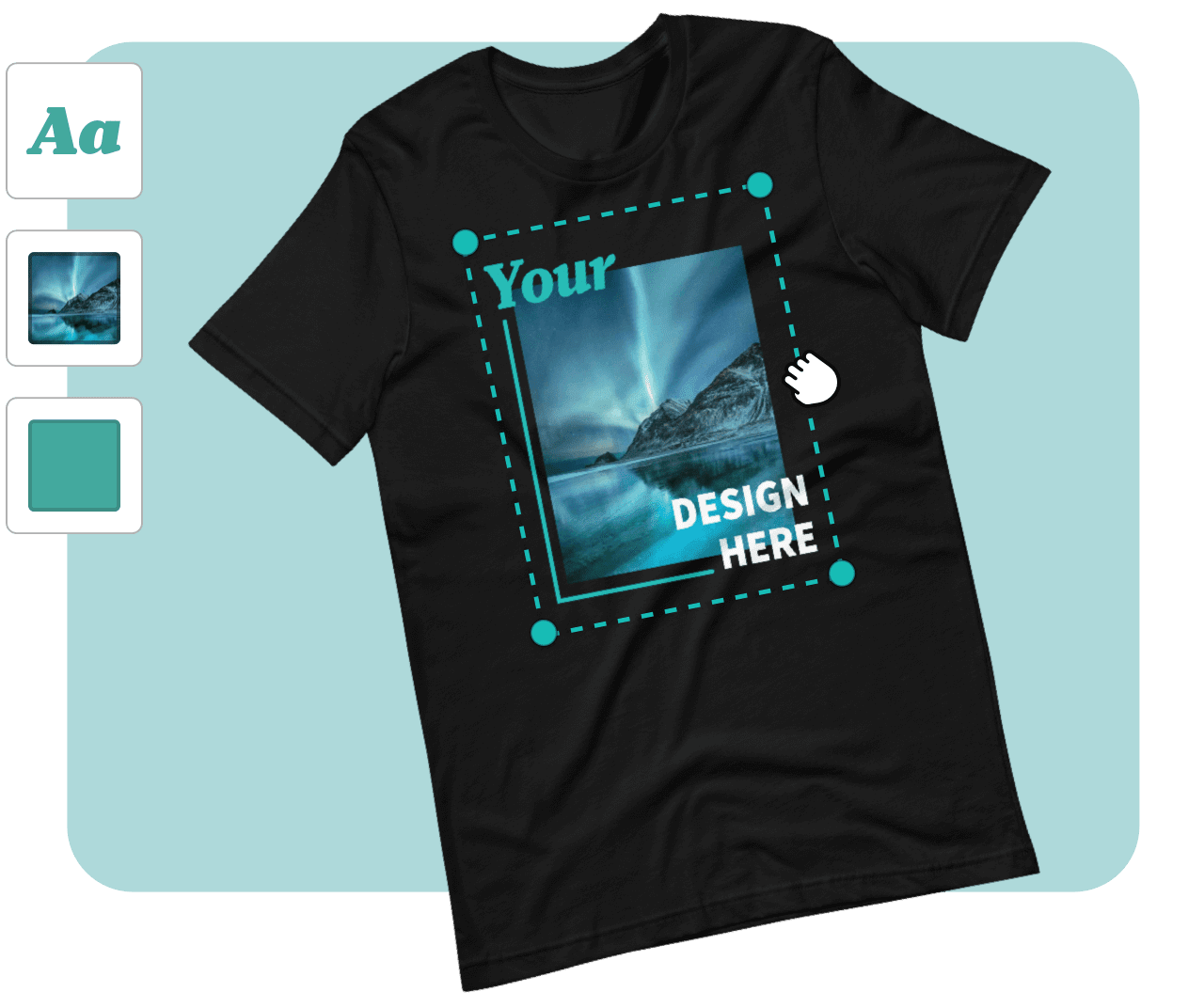 ejemplo de camiseta personalizada
