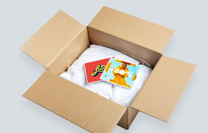 branded packaging inserts