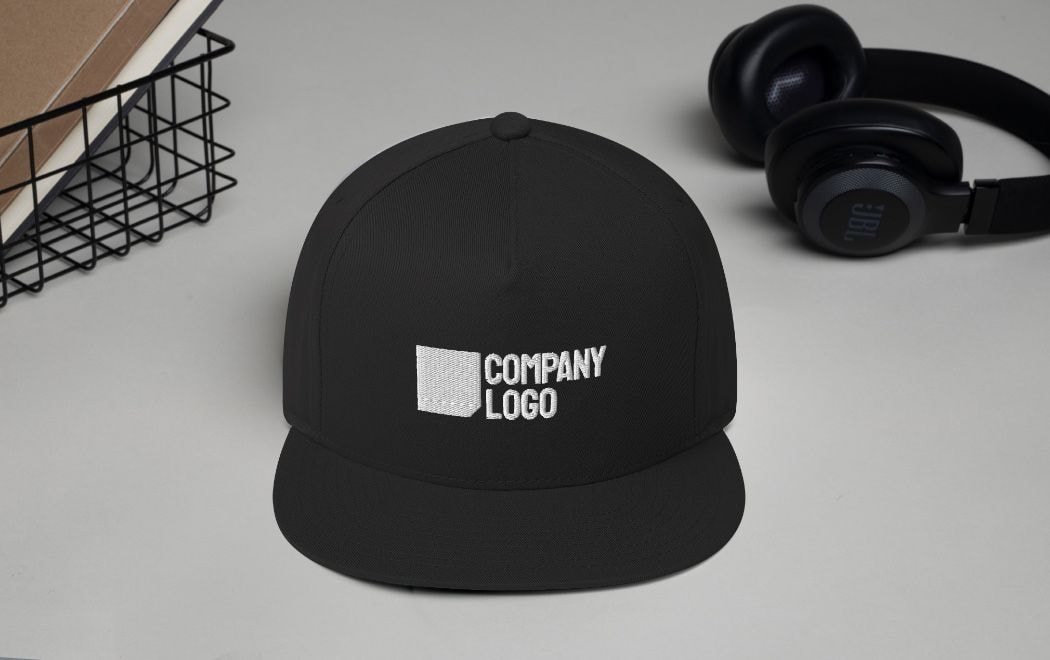 promotional company logo hat
