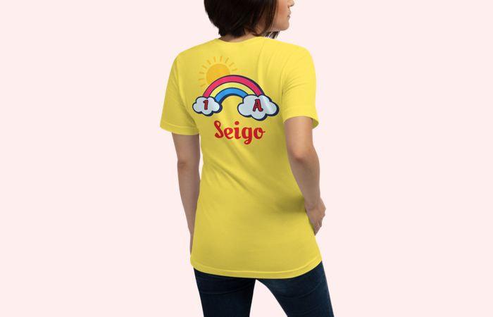 黄色いクラスTシャツ