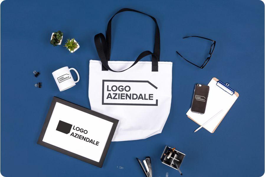 esempi di gadget con logo aziendale