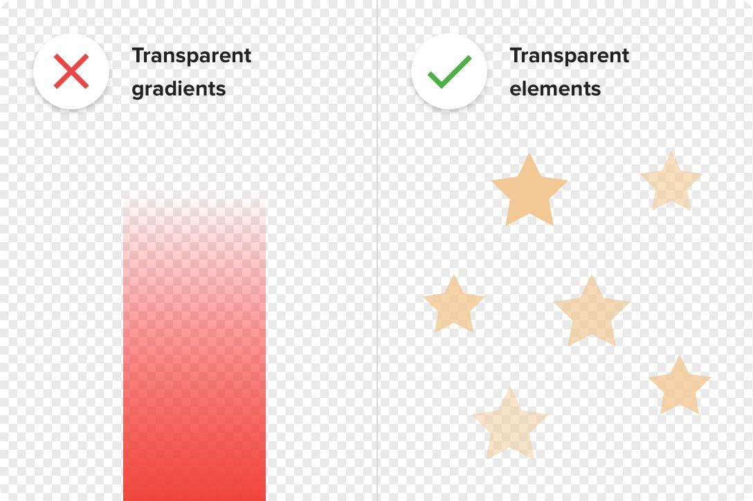 Design transparent pour coque de téléphone