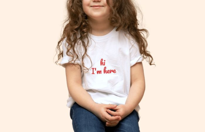 Kid's & youth embroidered t shirts