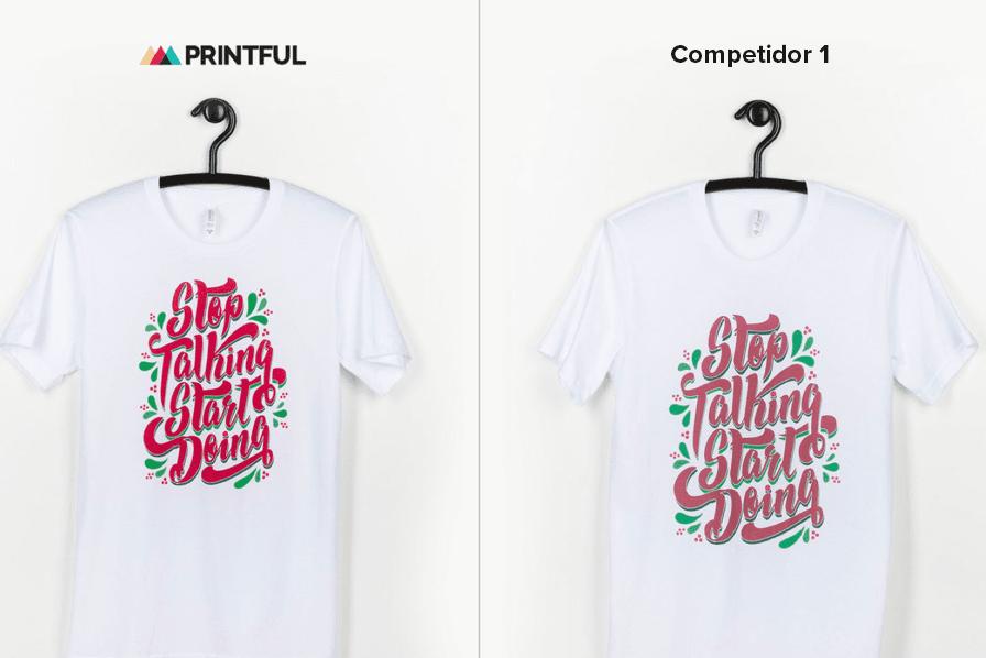 Impresión de camisetas de la mejor calidad