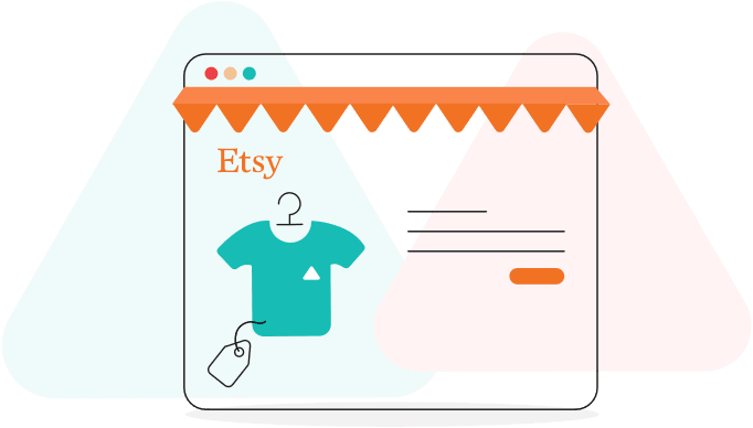 publish products on Etsy store