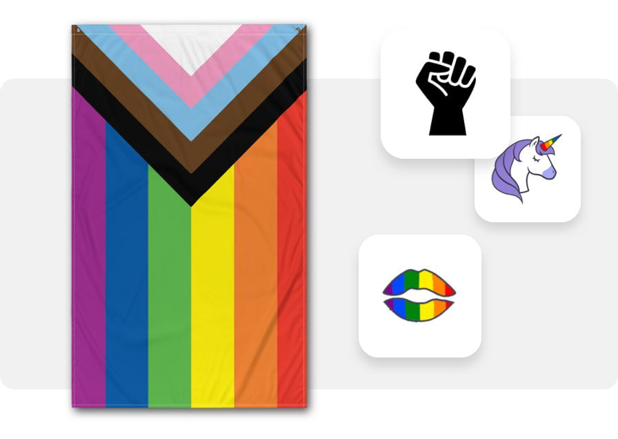 Create representation flag