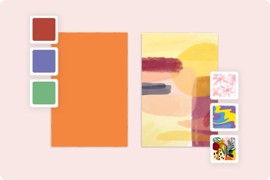 choose background for design