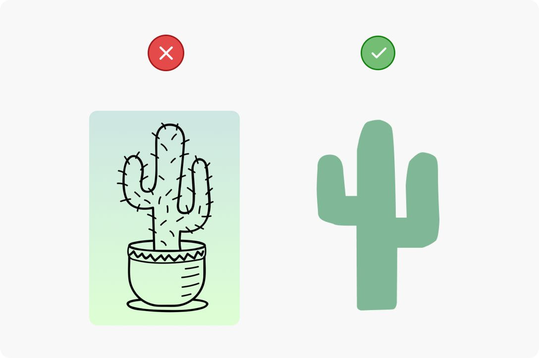 a cactus image with transparent background
