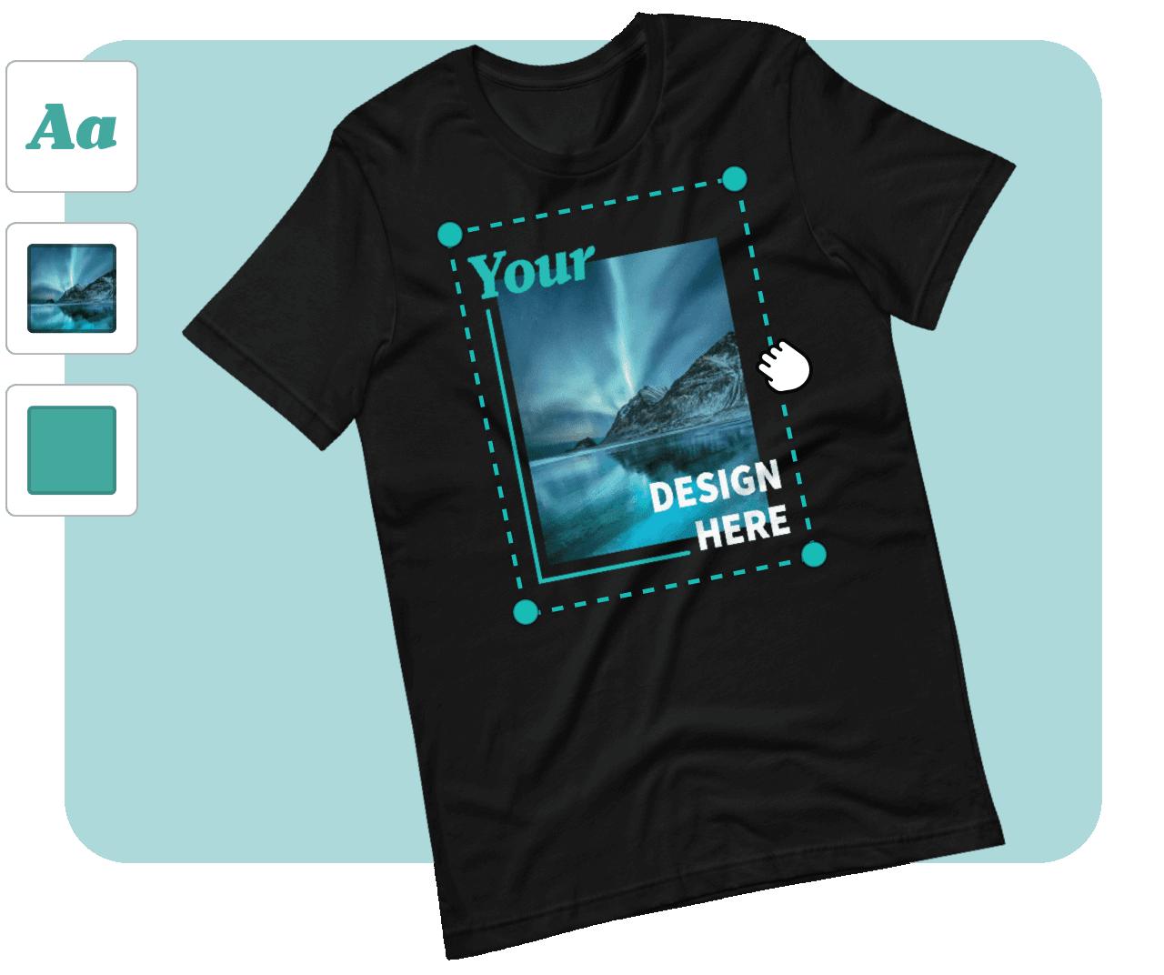 t-shirt mockup generator online
