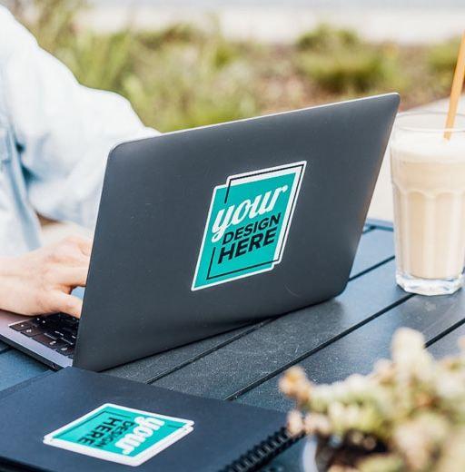 custom sticker for laptop
