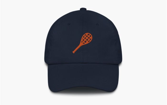 Branded dad hats