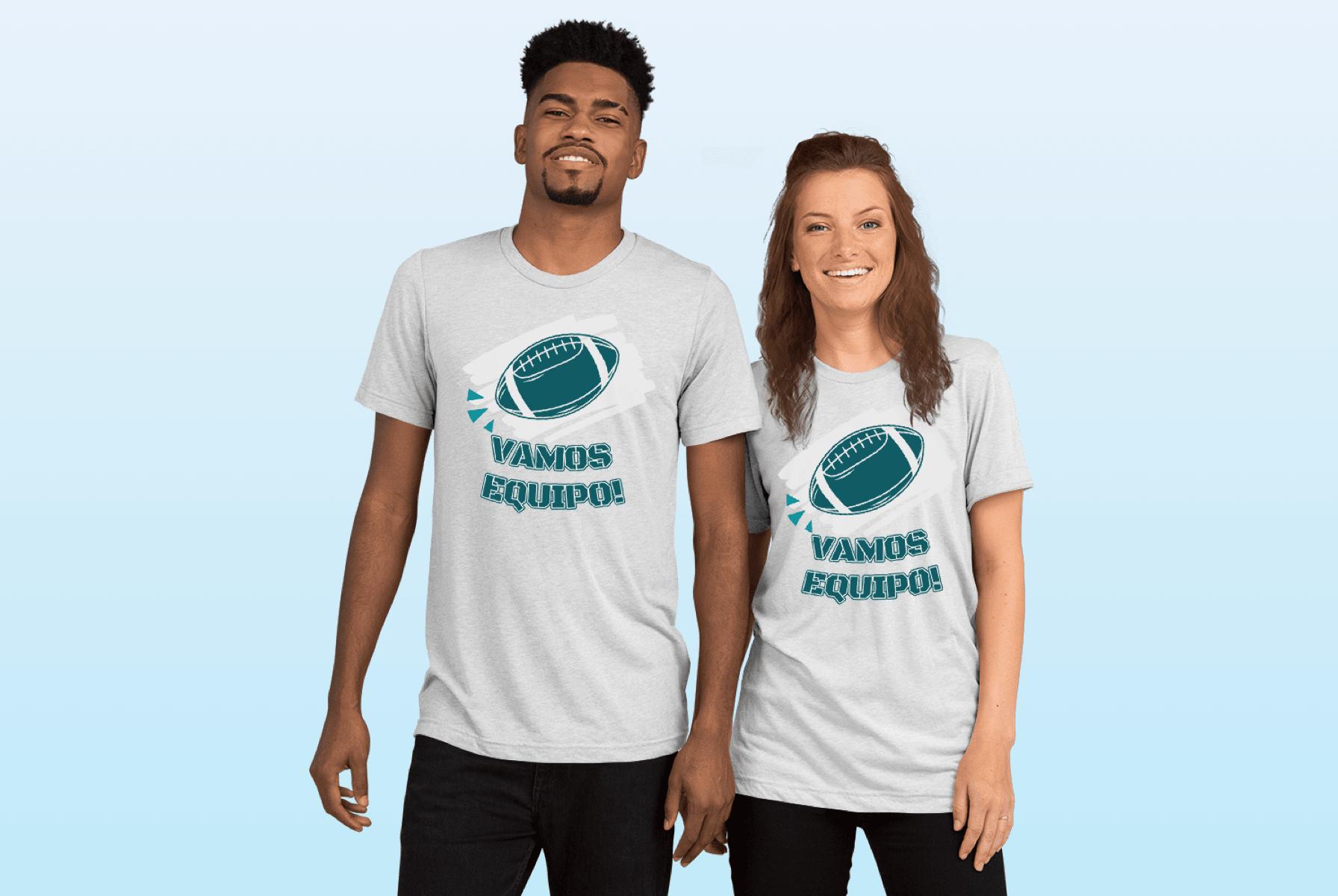 Camisetas de equipo estudiantil