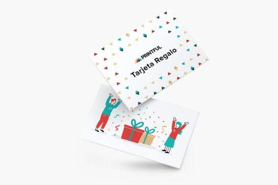 Tarjetas regalo de Printful