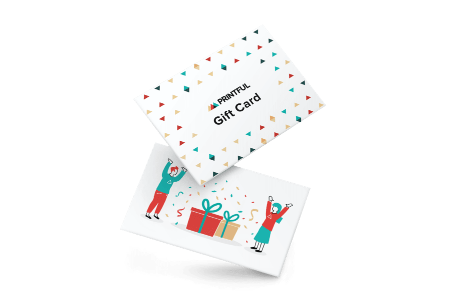 Tarjetas Regalo Printful