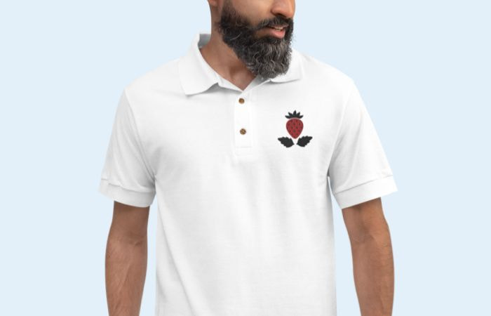 mens embroidered shirts