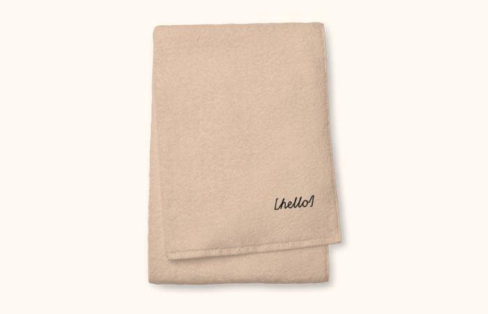 Asciugamano personalizzato