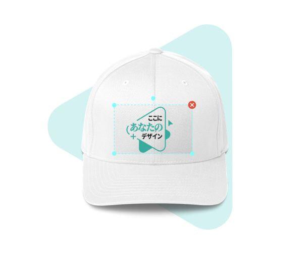 帽子のモックアップ作成ツール