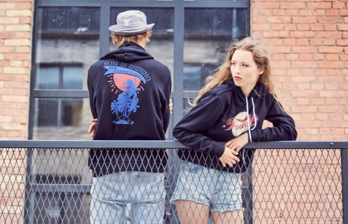 Vêtements personnalisés streetwear