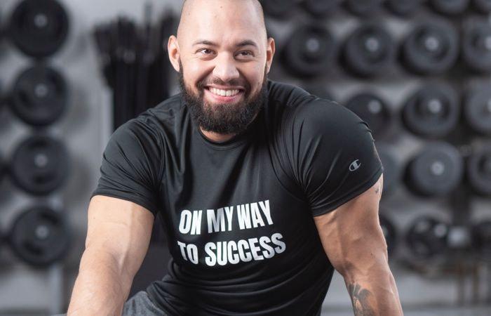 custom gym t-shirt