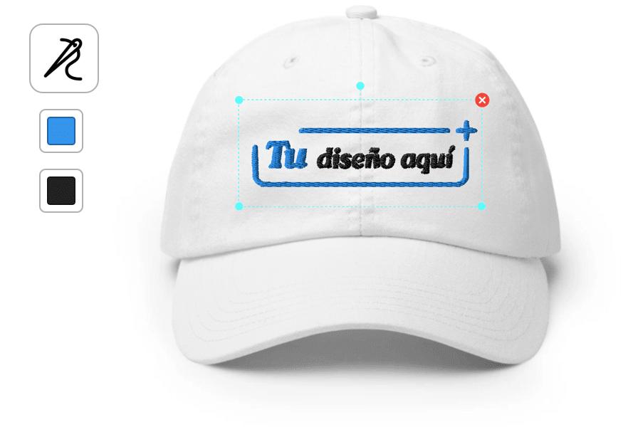 ejemplo gorra personalizada