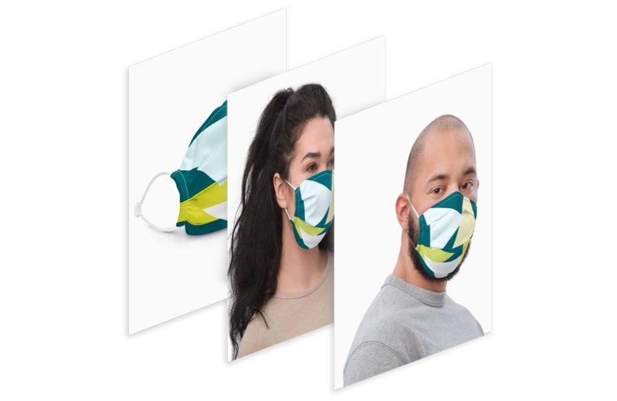 Création de maquette de masque personnalisé