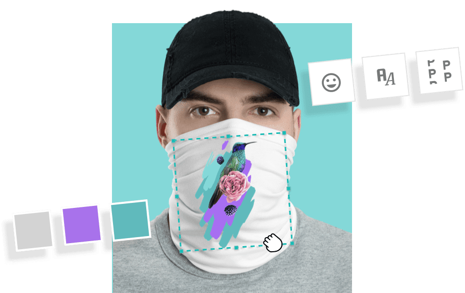 design your own face mask