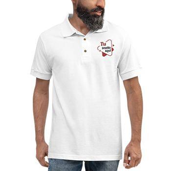 Camiseta bordada hombre