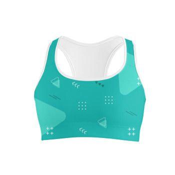 Custom sports bra