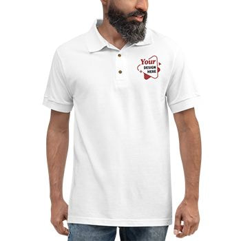 Mens embroidered shirt