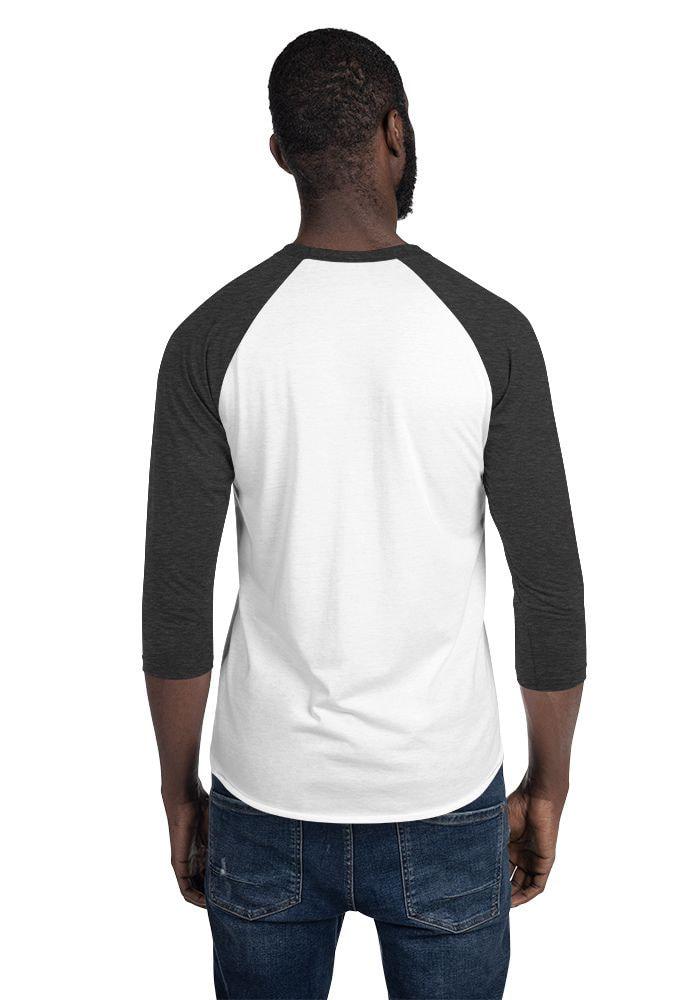 Boys Guys Slim Fit Raglan Tees Shirts 3//4 Sleeve Baseball Costume T Shirts Tops