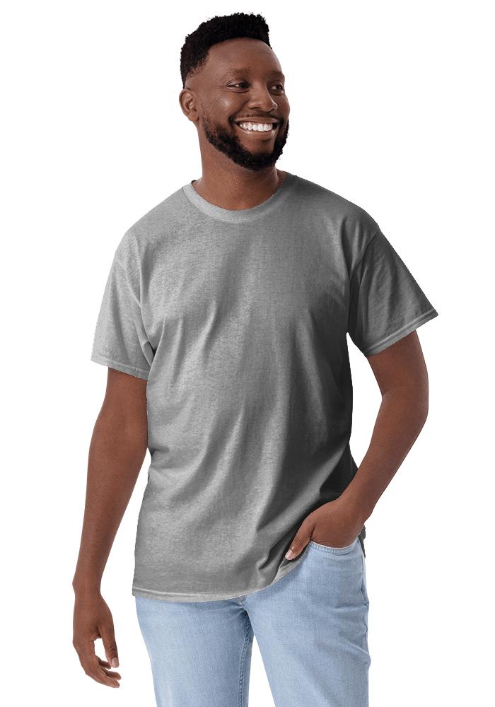 Men S Clic T Shirt Gildan 2000