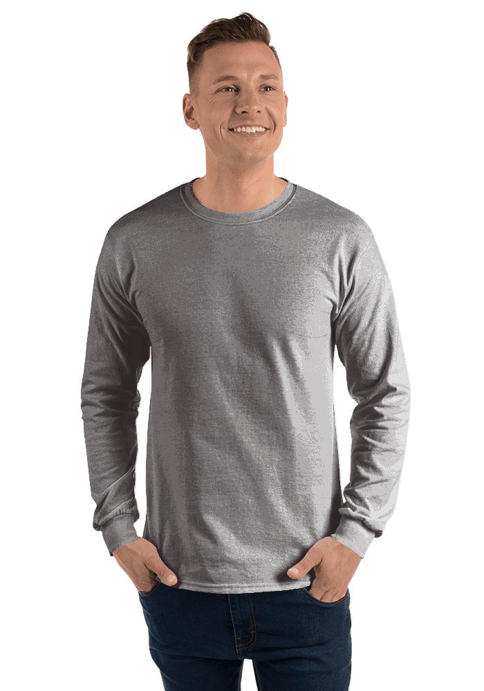 Mens/'s Gildan Long Sleeve Ultra Cotton t-shirt men/'s tops s m l xl 2xl