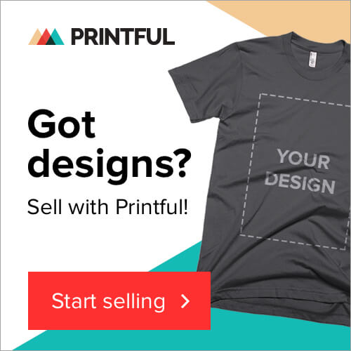 Create & sell your own custom design products online with Printful