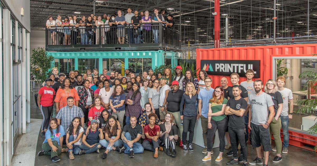 La facturación de Printful alcanza los 77,4 millones de dólares en 2018